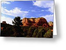 Courthous Butte Greeting Card