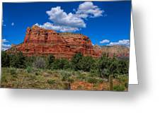 Courthouse Butte Greeting Card by Ola Allen