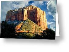 Courthouse Butte - Sedona Arizona Greeting Card