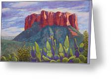 Courthouse Rock Greeting Card