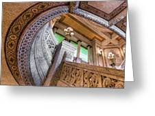 Courthouse Stairs Greeting Card