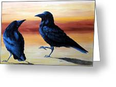 Courting Crows Greeting Card