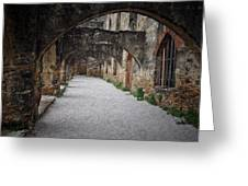 Courtyard Archway Greeting Card