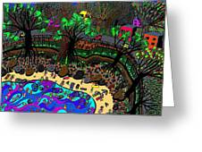 Cove Beach Greeting Card