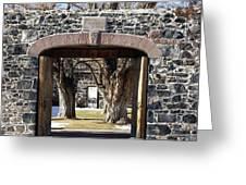 Cove Fort, Utah Greeting Card