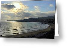 Cove Sunlight Greeting Card