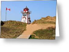 Covehead Harbour Lighthouse 5701 Greeting Card