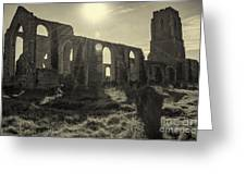 Covehithe Abbey Greeting Card
