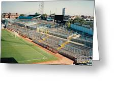 Coventry City - Highfield Road - East Stand Swan Lane 2 - August 1991 Greeting Card