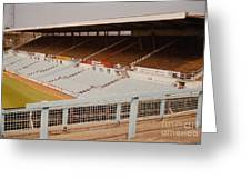 Coventry City - Highfield Road - North Side Thackhall Street Stand 2 - September 1969 Greeting Card