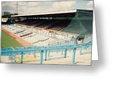 Coventry City - Highfield Road - North Side Thackhall Street Stand 3 - August 1991 Greeting Card