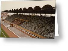 Coventry City - Highfield Road - South Side Main Stand 1 - 1969 Greeting Card