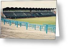 Coventry City - Highfield Road - South Side Main Stand 2 - August 1991 Greeting Card