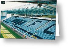 Coventry City - Highfield Road - South Side Main Stand 3 - August 1997 Greeting Card