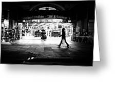 Coventry Street - London, England - Black And White Street Photography Greeting Card