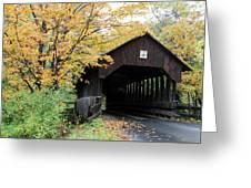 Covered Bridge Number 22 Greeting Card