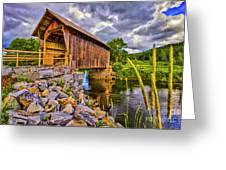 Covered Bridge, Vt Greeting Card