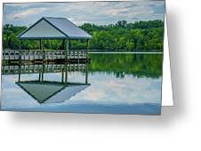 Covered Dock Greeting Card