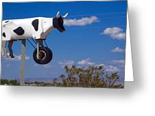 Cow Power Greeting Card