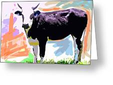 Cow Time Greeting Card