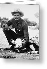 Cowboy, 20th Century Greeting Card