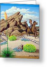 Cowboy Concerns Greeting Card