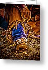 Cowboy Gold Greeting Card