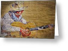Cowboy Poet Greeting Card