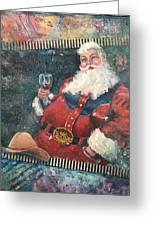 Cowboy Santa Greeting Card