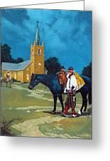 Cowboy's Prayer Greeting Card