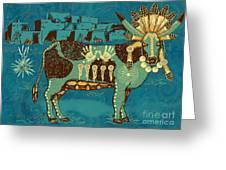 Cowchina Greeting Card