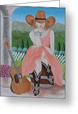 Cowgirl Attitude Greeting Card