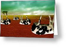 Cows Greeting Card