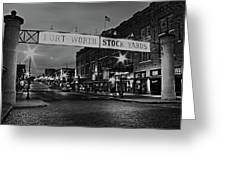Cowtown Greeting Card