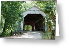 Cox Ford Bridge Greeting Card