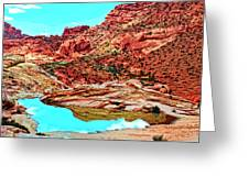 Coyote Butte Greeting Card