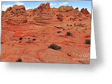 Coyote Buttes Pink Landscape Greeting Card