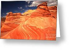 Coyote Buttes Sandstone Towers Greeting Card