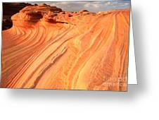 Coyote Buttes Sunset Glow Greeting Card