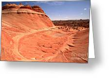 Coyote Buttes Swirling Sandstone Greeting Card