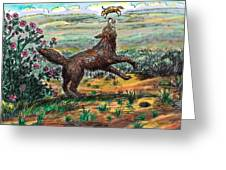 Coyote Joy Greeting Card
