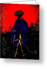 Coyote Rock Greeting Card