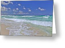 Cozumel Paradise Greeting Card