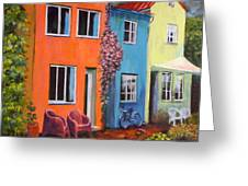 Cozy Street Greeting Card