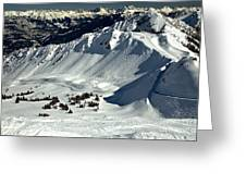 Cpr Ridge Extreme Terrain Greeting Card