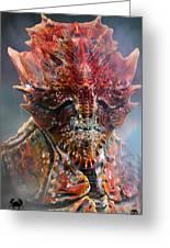 Crab King Greeting Card