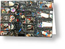 Crab Traps Greeting Card