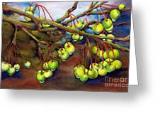 Crabapple Dew Greeting Card