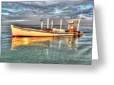 Crabbing Boat Beth Amy - Smith Island, Maryland Greeting Card