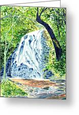 Crabtree Falls - Phantom Of The Blue Ridge Greeting Card